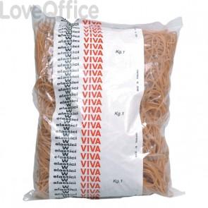 Elastici in gomma naturale Viva - 80 mm - EN080 (conf.1000)