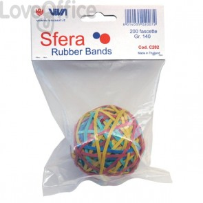 Sfera fettucce elastiche Viva - C202 (conf.200)