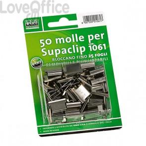 Ricariche per Dispenser Sparamolle e molle Supaclip Lebez - acciaio - 1061 (conf.50)