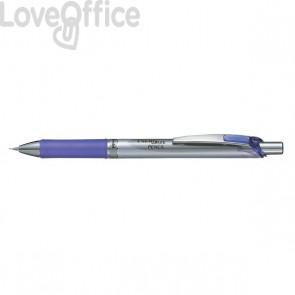 Portamine Energize Pentel - acciaio/viola - 0,5 mm - PL75-VO