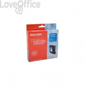 Originale Ricoh 405533 Gel GC21 (K202/C) ciano