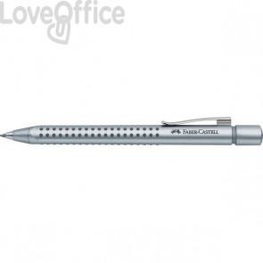 Matita Portamine Professionale GRIP 2011 Faber Castell - 0,7 mm - acciaio - pulsante