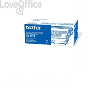 Toner Brother Originale TN-2110 SERIE 2100 nero