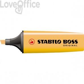 Scatola cartone evidenziatori Stabilo Boss Original - arancio - 2-5 mm - 70/54 (conf.10)