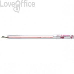 Penne a sfera Superb Pentel - rosso - 0,7 mm (conf.12)