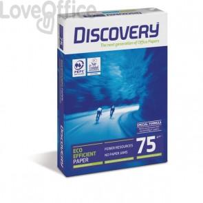 Carta per fotocopie Discovery 75 - Risma Carta A4 - 75 g/mq (5 risme)