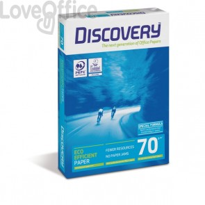 Risma carta A4 Discovery (5 risme)