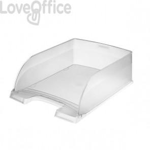 Portacorrispondenza Leitz Plus Jumbo - cristallo di rugiada - 52330003 (conf.4)