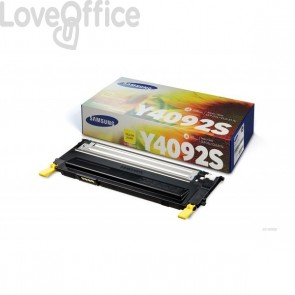 Originale Samsung CLT-Y4092S-ELS Toner giallo