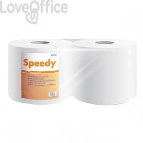 Asciugatutto Lucart Speedy Wiper - Pura cellulosa 2 veli - 760 strappi - 171 m (conf.2)