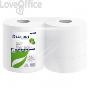 Carta igienica ecologica Maxi jumbo Lucart 2 veli - 360 m - 812173 (conf.6)