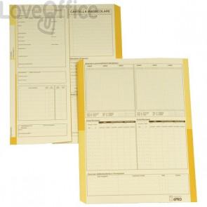 Cartelline cartoncino - Cartella matricolare impiegati - 4company - avorio - 32,5x25,5 cm - 225 g/mq (conf.50)