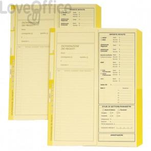 Cartelline dichiarazione redditi avorio e giallo