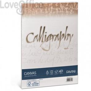 Calligraphy Canvas Ruvido Favini - bianco - A4 - 200 g - A690314 (conf.50)