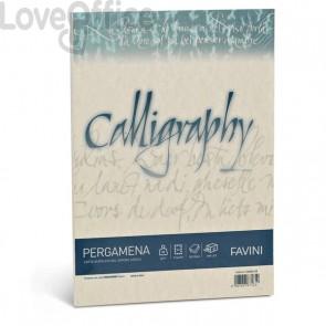 Calligraphy Pergamena Liscio Favini - sabbia - fogli - A4 - 90 g - A69U204 (conf.50)