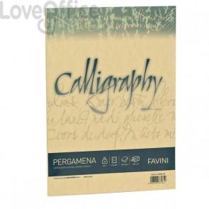 Calligraphy Pergamena Liscio Favini - oro - fogli - A4 - 90 g - A69W204 (conf.50)