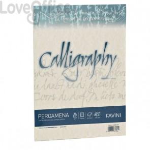 Calligraphy Pergamena Liscio Favini - naturale - fogli - A4 - 190 g - A69Q084 (conf.50)