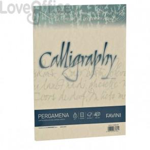Calligraphy Pergamena Liscio Favini - crema - fogli - A4 - 90 g - A692204 (conf.50)