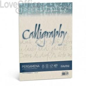 Calligraphy Pergamena Liscio Favini - naturale - fogli - A4 - 90 g - A69Q204 (conf.50)