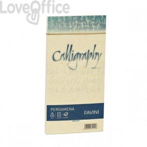 Calligraphy Pergamena Liscio Favini - crema - buste - 12x18 cm - 90 g - A572207 (conf.25)