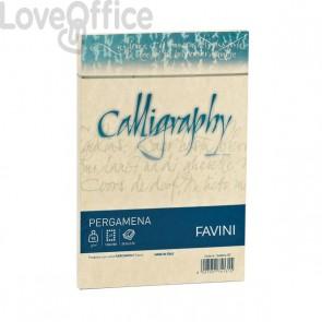 Calligraphy Pergamena Liscio Favini - crema - buste - 11x22 cm - 90 g - A572203 (conf.25)