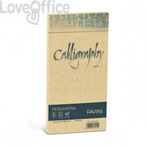 Calligraphy Pergamena Liscio Favini - oro - buste - 11x22 cm - 90 g - A57W203 (conf.25)