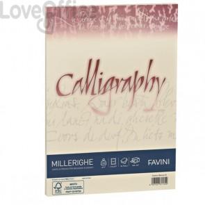 Calligraphy Millerighe Rigato Favini - avorio - fogli - A4 - 200 g - A69Q324 (conf.50)
