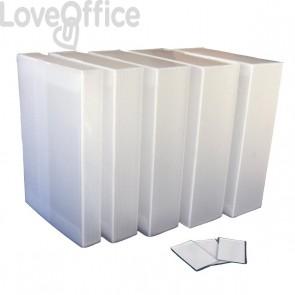 Cartella portaprogetti polionda Dispaco - 25x35 cm - dorso 10 cm - neutro
