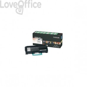 Originale Lexmark E260A11E Toner return program nero