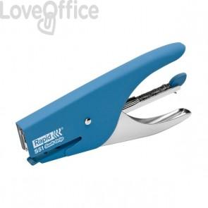 Cucitrice a pinza Supreme S51 Soft Grip Rapid - blu - 10538742