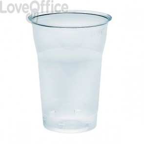 Bicchieri Diamant in plastica trasparente DOpla - 250 cc - 02814 (conf.50)