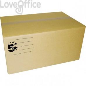 Scatole imballo avana 30x20x20 cm 2 onde Conf. 15 pezzi - 51253