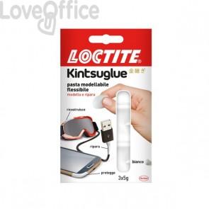 Pasta modellabile Kintsuglue Loctite - bianco - 3x5 g - 2239174 (conf.3)