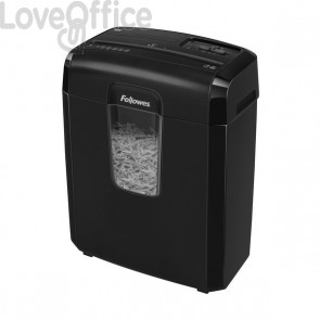 Distruggi documenti Fellowes Powershred 8C - P4 - microframmenti - 4x35mm
