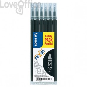 Refill Frixion Ball Pilot Value Pack - nero - 006642 (conf.6)