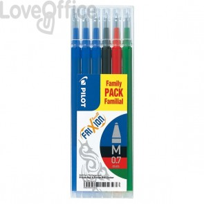 Refill Frixion Ball Pilot Value Pack - assortiti - 006649 (conf.6)