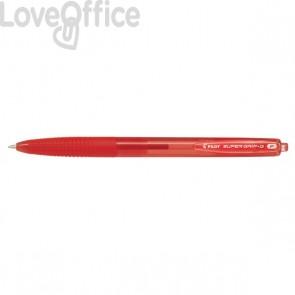 Penna a sfera a scatto Super Grip G Pilot - 0,7 mm - Rosso