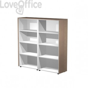 Coppia mobili medioalti a giorno Artexport Flora - L163 P43 H158,2 cm - 937C/K
