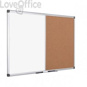 Pannello combo sughero/lavagna bianca Bi-Office - 90x60 cm - XA0303170