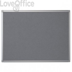 Pannello in feltro Maya Bi-Office - 90x60 cm - grigio - FA0342170
