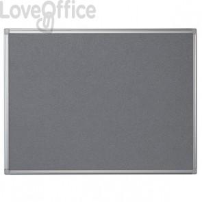 Pannello in feltro Maya Bi-Office - 120x90 cm - grigio - FA0542170