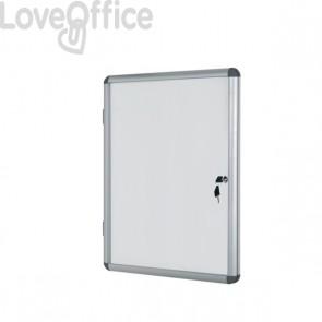 Bacheca magnetica Enclore Bi-Office - 6xA4 - 72x67,4 cm - Orizzontale - VT620109150