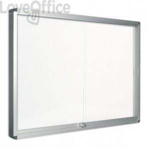 Bacheca magnetica Exhibit Bi-Office - 9xA4 - 114,6x96,7 cm - orizzontale - VT640209160