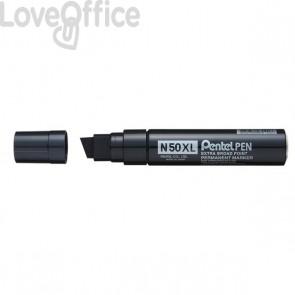 Pennarello indelebile nero - Pentel N50 - Extra Large - 17 mm - nero