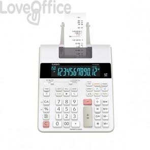 Calcolatrice scrivente FR-2650RC a 12 cifre Casio - bianco - FR-2650RC