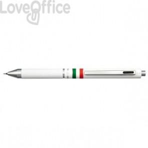 Penna 4 funzioni Quadra Osama - bianco - 0,8 mm - OD 1024ITG/1 BI