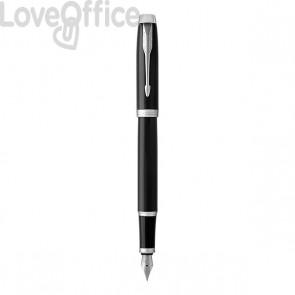 Penna stilografica Parker IM - nero - ink blu - 1931651