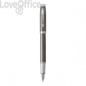 Penna stilografica Parker IM Premium - Dark espresso - blu - 1931680