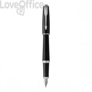 Penna stilografica Parker Urban - nero lucido - ink blu - 1931600
