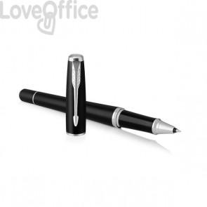 Penna roller Parker Urban - nero lucido - ink nero - F - 1931583